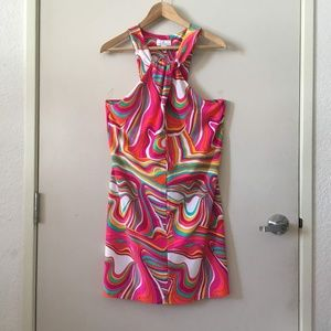 Jude Connally Swirl Print Dress